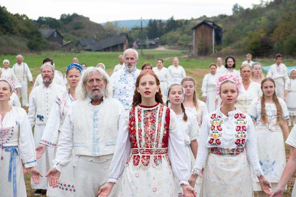 'Midsommar' has been compared to folk horror classics including 'The Wicker Man'. (Credit: A24)