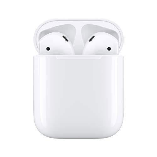 """<p><strong>Apple</strong></p><p>amazon.com</p><p><a href=""""https://www.amazon.com/dp/B07PXGQC1Q?tag=syn-yahoo-20&ascsubtag=%5Bartid%7C2139.g.29764638%5Bsrc%7Cyahoo-us"""" target=""""_blank"""">BUY IT HERE</a></p><p><del>$159.00</del><strong><br>$144.00</strong></p><p>There's a reason you see so many Apple AirPods at the gym—they're about as minimal an earbud as you can get and they conveniently charge on the go courtesy of the charging case. For iPhone lovers, they're a no-brainer companion to quickly pair with your phone. <br></p>"""