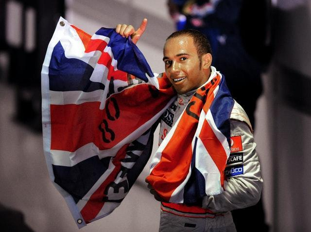 British driver Lewis Hamilton secured the first of his seven world titles in dramatic fashion