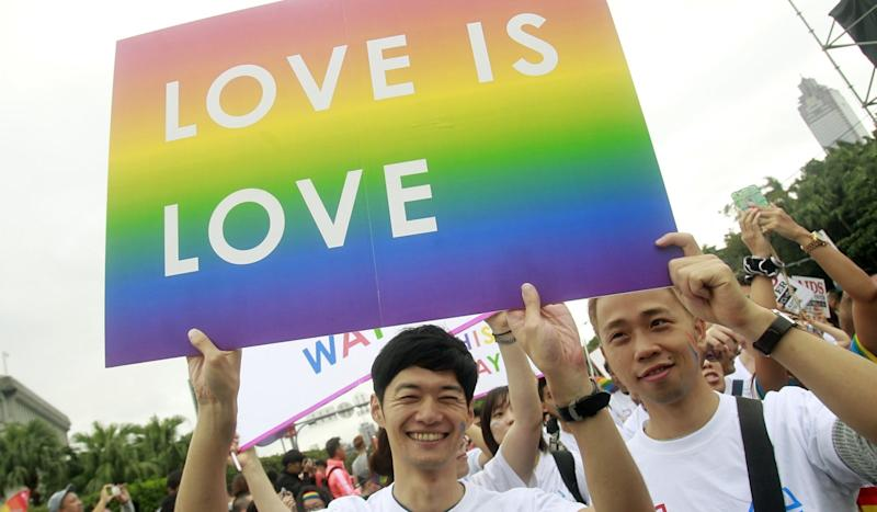 Taiwan lawmakers set for historic vote on same-sex marriage, potentially making it the first place in Asia to legally recognise gay couples