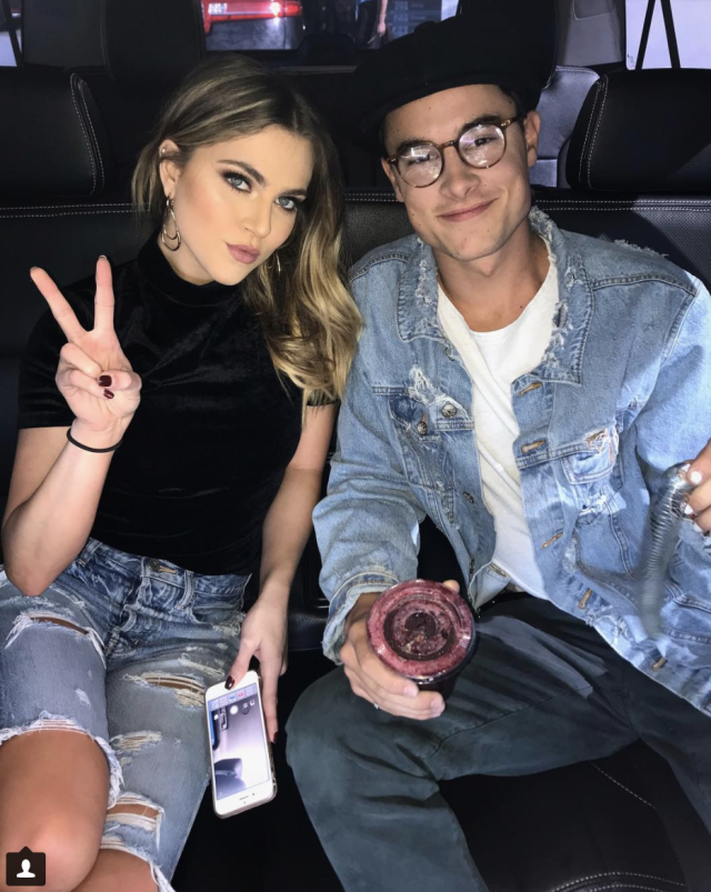 <p>Cruisin' through our interviews! On to the next one! @annewinters @kianlawley (Photo: Instagram) </p>