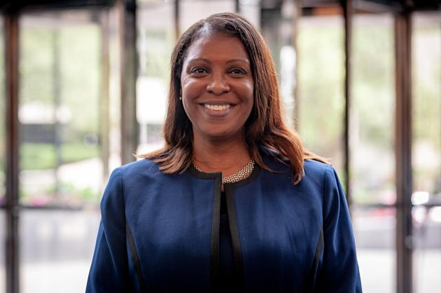 "Letitia James, the public advocate in New York City and a candidate for attorney general in New York, plans to reform the criminal justice system. (Photo: David ""Dee"" Delgado for Yahoo News)"
