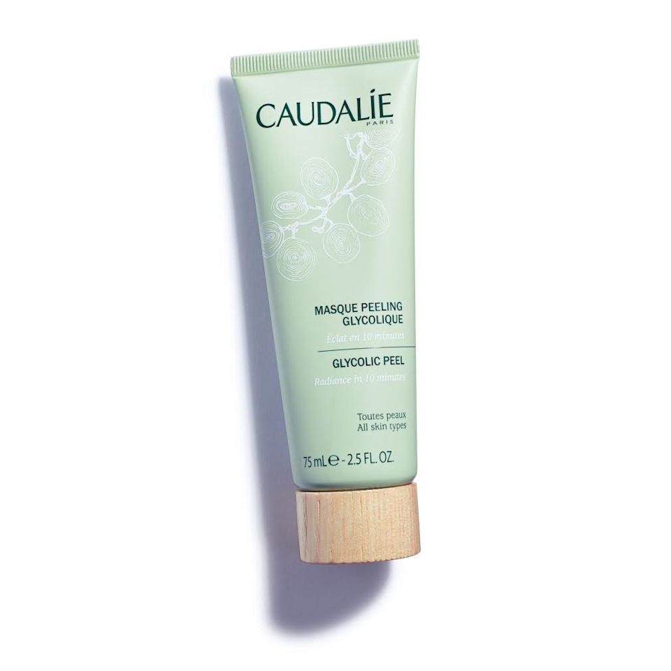 """<a href=""""https://www.allure.com/gallery/what-you-didnt-know-about-lactic-salicylic-citric-glycolic-acid-creams?mbid=synd_yahoo_rss"""" rel=""""nofollow noopener"""" target=""""_blank"""" data-ylk=""""slk:Glycolic acid"""" class=""""link rapid-noclick-resp"""">Glycolic acid</a> penetrates more deeply than other AHAs, making it one of the most effective exfoliators out there. This particular formula contains a healthy dose of the superstar exfoliator, plus papaya enzyme for a shot of extra brightness. Best of all, the mask gets skin glowing within 10 minutes."""
