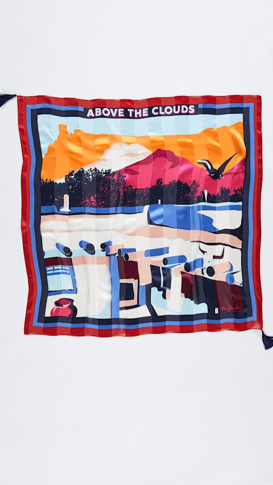"$158, Shopbop. <a href=""https://www.shopbop.com/above-clouds-silk-square-scarf/vp/v=1/1562613820.htm?folderID=13564&fm=other-shopbysize-viewall&os=false&colorId=102D9"">Get it now!</a>"
