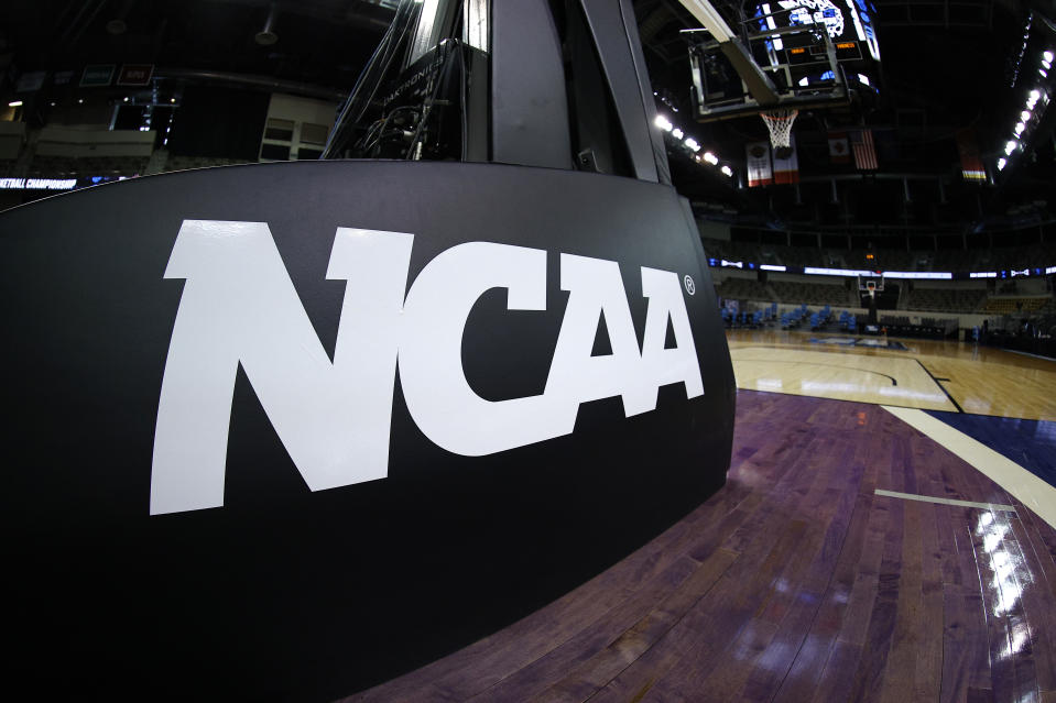 The Supreme Court didn't seem to like the NCAA's arguments in defense of its amateurism on Wednesday. (Maddie Meyer/Getty Images)