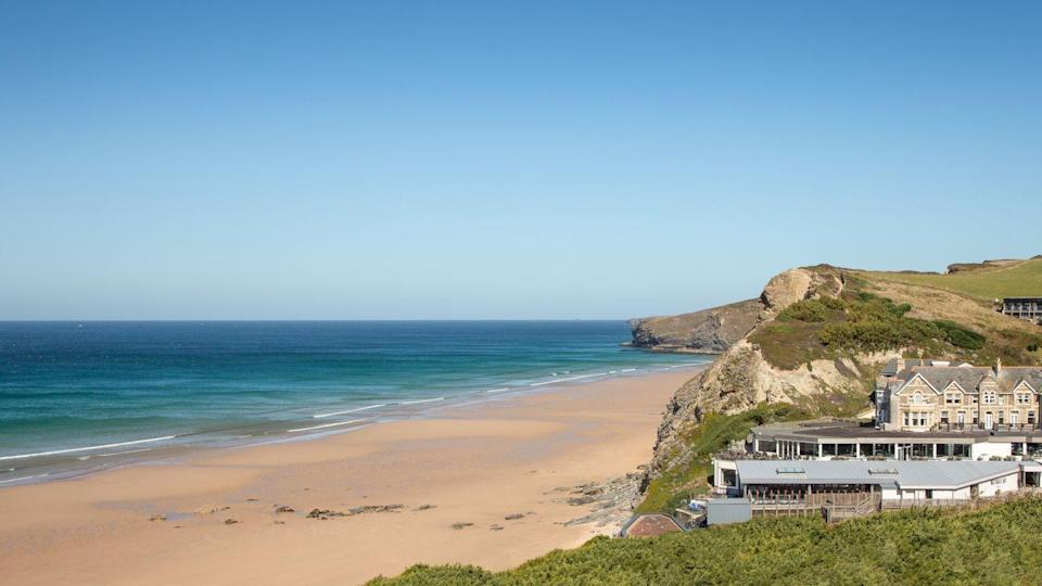 """<p>If you went all out and invested in not one, but two new pets during lockdown, Cornwall's Watergate Bay Hotel is the staycation retreat of choice for you this summer – guests can bring a duo of dogs per room. Animal-friendly activities include ball-chasing, hole-digging and sea-splashing along the two-mile stretch of sandy shore on the hotel's doorstep, which also features cliff paths for perhaps slightly more photogenic walks than usual. There are two dog-friendly restaurants on-site, too.</p><p>For more information, visit <a href=""""https://www.watergatebay.co.uk/"""" rel=""""nofollow noopener"""" target=""""_blank"""" data-ylk=""""slk:watergatebay.co.uk"""" class=""""link rapid-noclick-resp"""">watergatebay.co.uk</a>.</p>"""