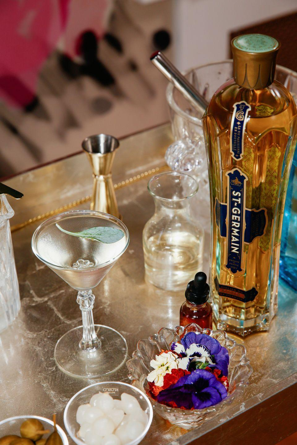 "<p>St. Germain's North American Ambassador Earlecia Richelle created this Art Deco-inspired take on the classic cocktail for celebrations big and small—be it a New Year's Eve party, a cozy Valentine's Day at home, or simply welcoming the weekend. </p><p>Get the recipe, <a href=""https://www.veranda.com/food-recipes/a35057997/earlecia-richelle-deco-martini-recipe/"" rel=""nofollow noopener"" target=""_blank"" data-ylk=""slk:here"" class=""link rapid-noclick-resp"">here</a>. </p>"