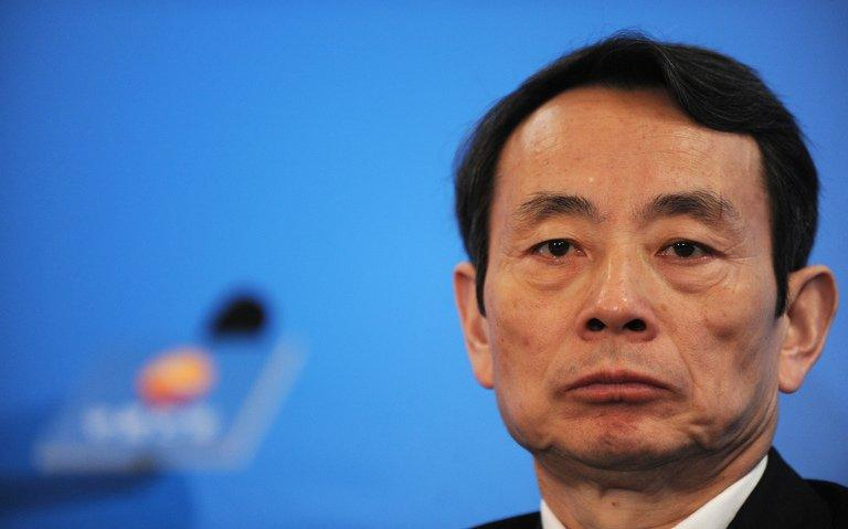 Jiang Jiemin, former CNPC chairman, pictured on March 25, 2010. A source told China Daily the allegations of graft against him relate to the time when he was head of the oil company