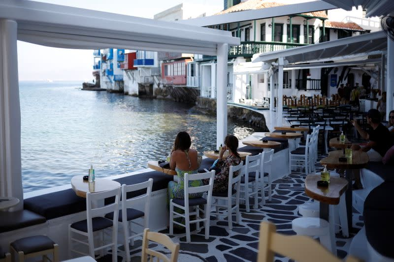 Mykonos, Greece's famed party island, falls silent under new COVID rules