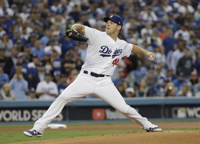 The Dodgers should get some help in their rotation. (AP Photo/David J. Phillip)
