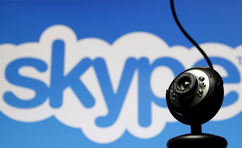 Skype, the popular internet phone and messaging service, has been removed from app stores in China amid a crackdown on cyber content.