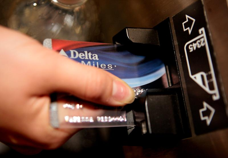 To get free airline miles, you have to sign up for a mileage-earning credit card and often paying an annual fee for the privilege. And if you miss a payment or two on that airline affinity credit card, it will cost you.