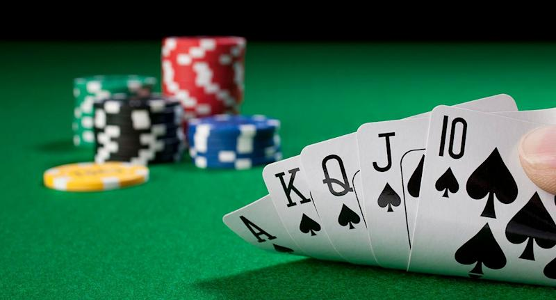 The poker player won $3.6 million with a royal flush at the Crown Perth casino. Source: Getty, file