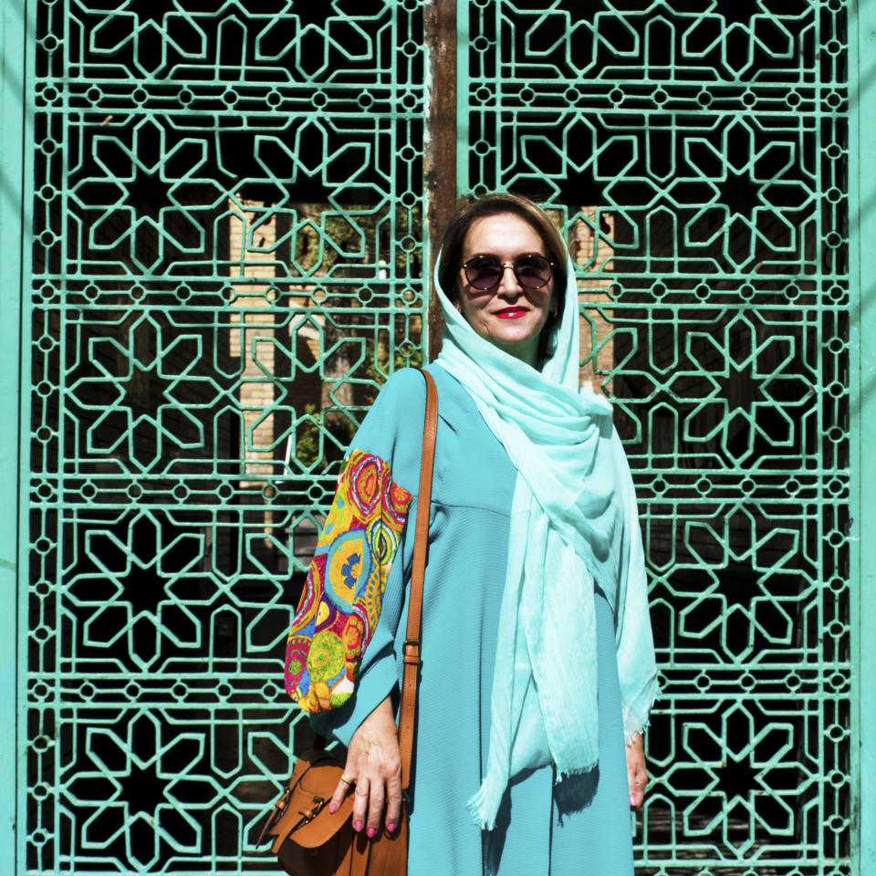 Street style in Tehran (Photo by Hoda Katebi)