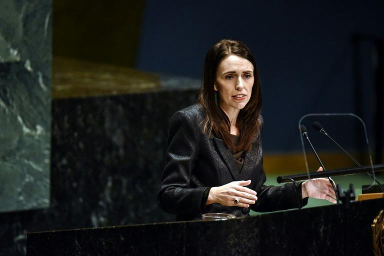 New Zealand PM Jacinda Ardern has led an effort to force tech giants to clamp down on extremist content in the wake of the Christchuch massacre (AFP Photo/STEPHANIE KEITH)