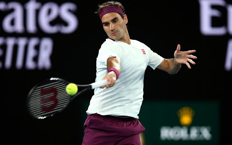 Federer was taken to five gruelling sets in the previous round, against John Millman - Getty Images AsiaPac