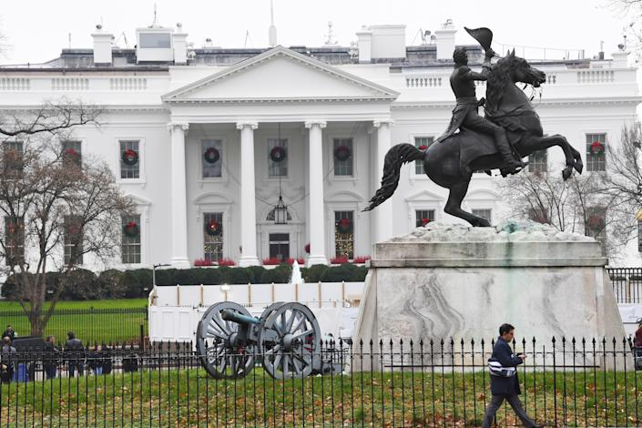 The White House on the day House Democrats announced two articles of impeachment against President Donald Trump -- historic action rarely taken in American history.