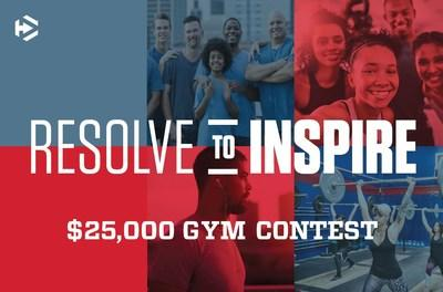 Dymatize Resolve to Inspire $25,000 Gym Contest