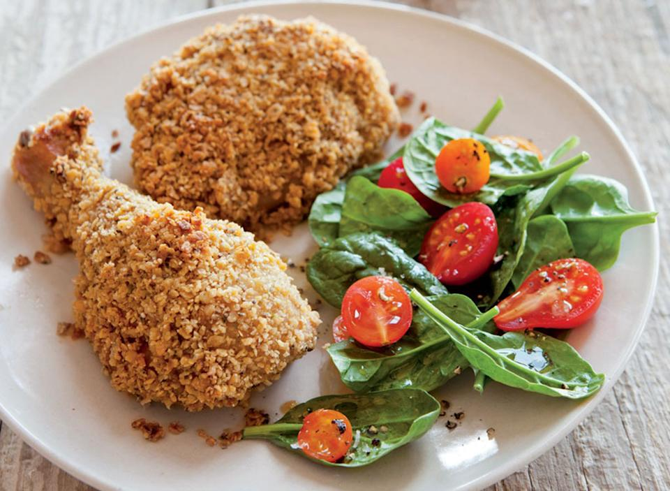 oven roasted fried chicken