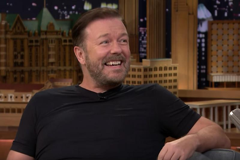 Child's play? Ricky Gervais gets into game show biz with a panel of kids on ABC