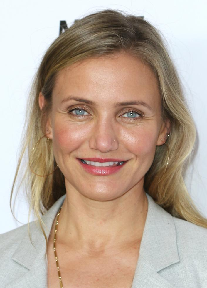 Cameron Diaz at Because Age Is A State Of Mind: Cameron Diaz Joins MPTF To Celebrate Health And Fitness held at The Motion Picture & Television Fund's Wasserman Campus on June 10, 2016 in Woodland Hills, California, United States (Photo by JC Olivera) *** Please Use Credit from Credit Field ***