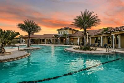 Mattamy's Renaissance at West Villages community offers a number of lifestyle benefits for residents, including a resort-style clubhouse with fitness center, social rooms and expansive terraces, resort-style pool and spa. (CNW Group/Mattamy Homes Limited)