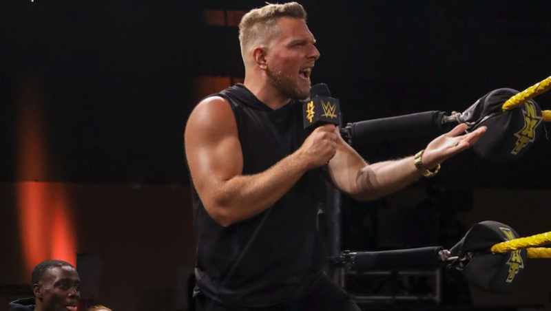 Pat McAfee is set to make his WWE in-ring debut at 'NXT TakeOver: XXX' (Photo courtesy of WWE)