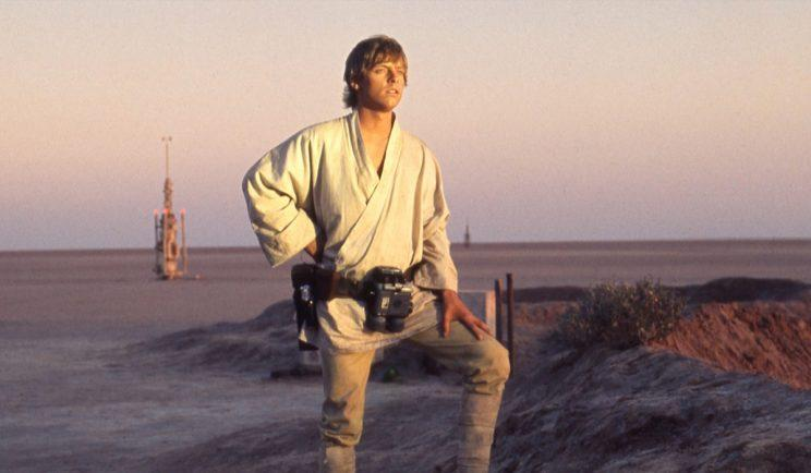 Luke Skywalker led a fairly average life on Tatooine - Credit: Lucasfilm