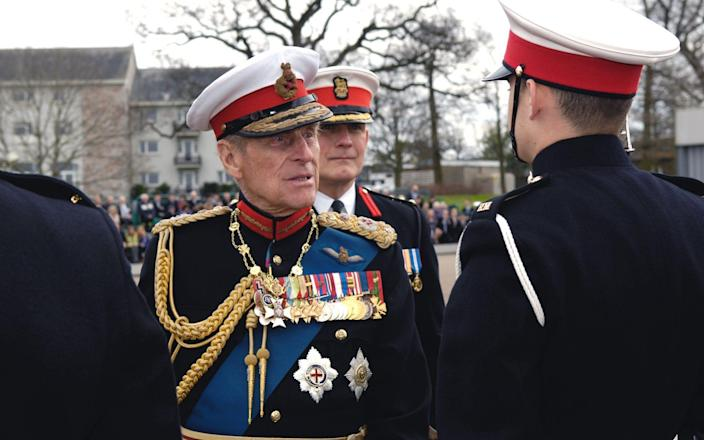 Prince Philip was the Captain General of the Royal Marines for 64 years, from 1953-2017 - Jennie Burn/MOD