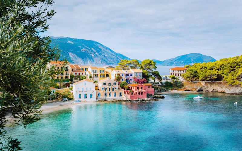Kefalonia, Greece, is poised for the return of tourists - Getty