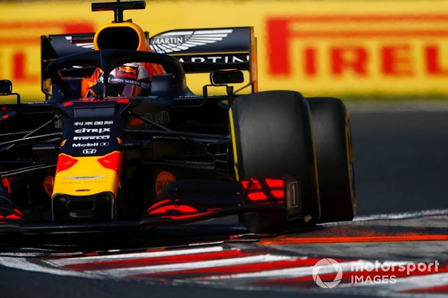 "Max Verstappen, Red Bull Racing RB15 <span class=""copyright"">Andrew Hone / LAT Images</span>"