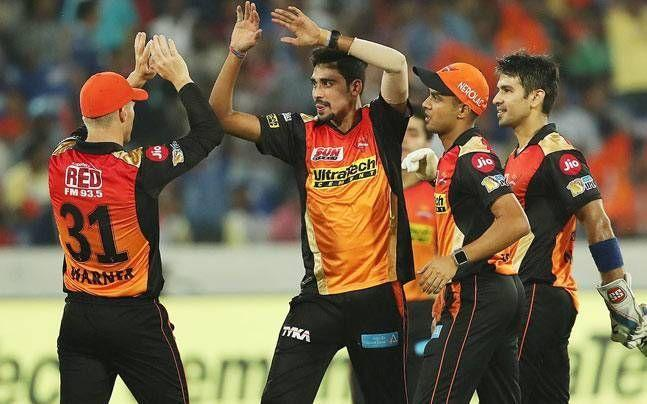 Mohammad Siraj and Siddharth Kaul represented India at the international level after playing well for Sunrisers Hyderabad