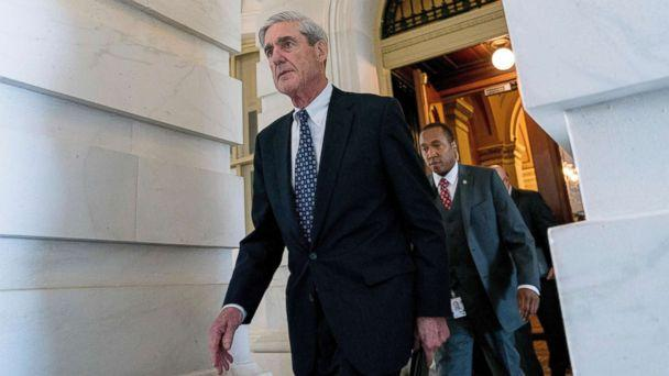 PHOTO: Special Counsel Robert Mueller departs Capitol Hill following a closed door meeting in Washington, June 21, 2017. (Andrew Harnik/AP)
