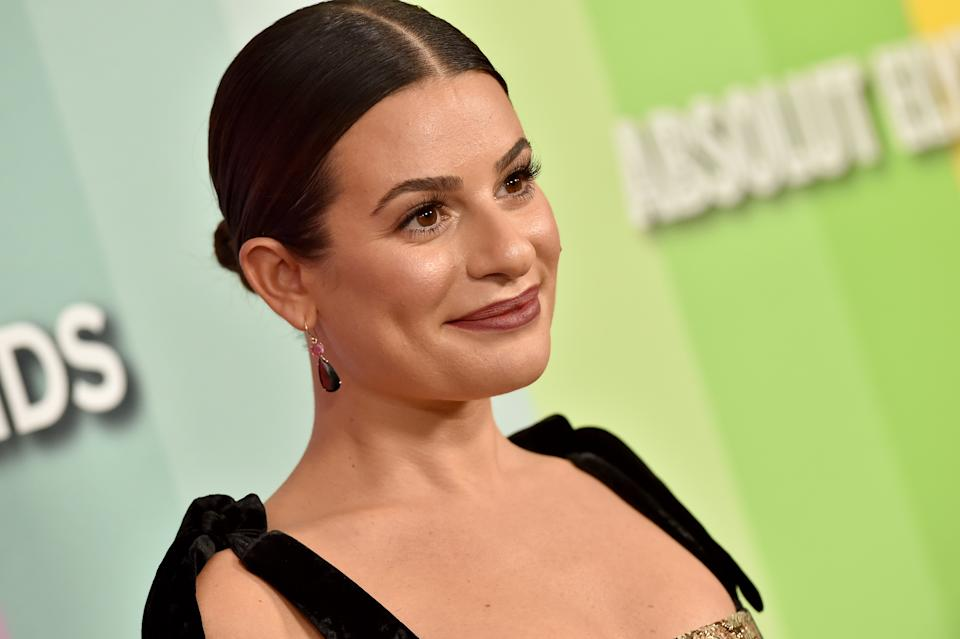 Actress Lea Michele, 34, is embracing her postpartum body. (Photo: Axelle/Bauer-Griffin/FilmMagic)