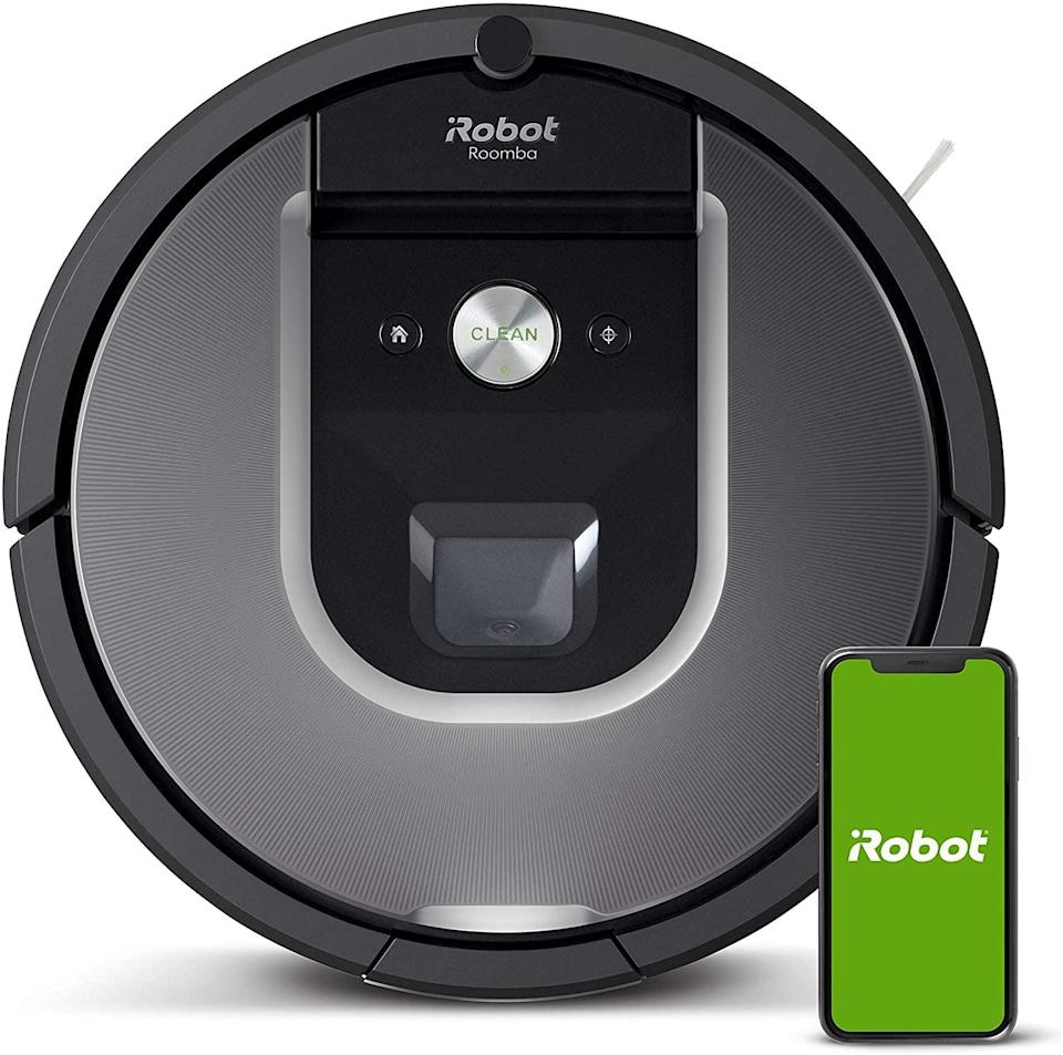 <p>For the dad who loves their gadgets, treat them to something that will help keep things clean but in the most entertaining way possible. The <span>Roomba 960</span> ($499) adapts to take care of the entire level of your home with the touch of your phone.</p>