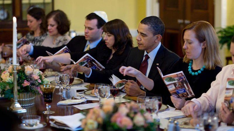 Even Barack Obama used the Maxwell House Haggadah