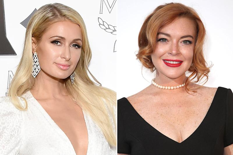 Lindsay Lohan Responds to Paris Hilton with 'Love' After Being Called 'Lame'