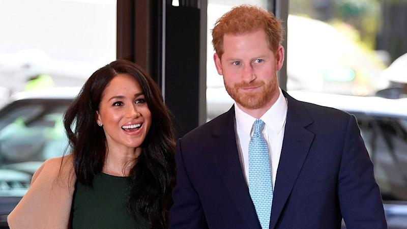 Meghan Markle and Prince Harry Share Never-Before-Seen Photo of Son Archie in New Year's Message