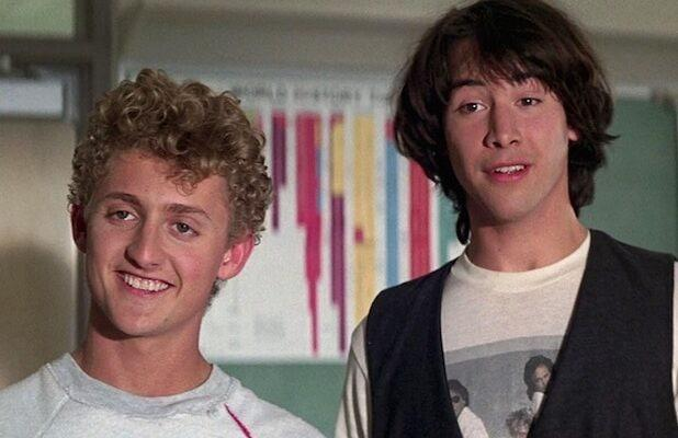 Here's an Excellent Flashback: Keanu Reeves and Alex Winter's Earliest 'Bill & Ted' Interviews (Exclusive)