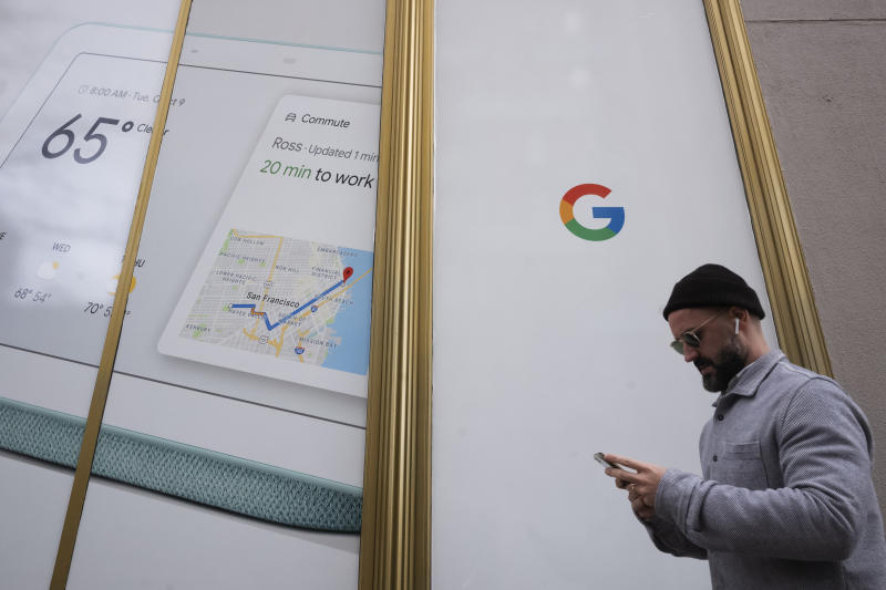 Digital ads lift Google but shares hit by costs