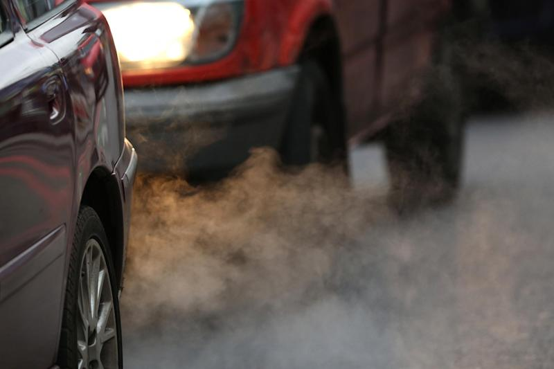Exhaust fumes from a car in south London: Getty Images