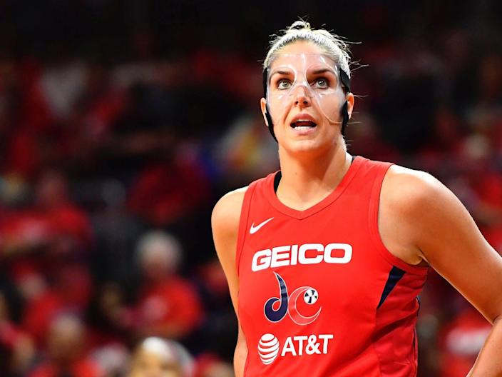 "After Elena Delle Donne's petition for a medical opt-out from this season was denied, her team chose to pay her ""as a full-time member of our roster."""