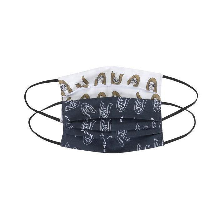 """Out all of the face masks you could possibly gift this year, this one from Michael Stars is our one of favorites yet. Gloria! Steinem! Everywhere! $18, Michael Stars. <a href=""""https://www.michaelstars.com/products/gloria-pleated-mask-mspmaske?"""" rel=""""nofollow noopener"""" target=""""_blank"""" data-ylk=""""slk:Get it now!"""" class=""""link rapid-noclick-resp"""">Get it now!</a>"""