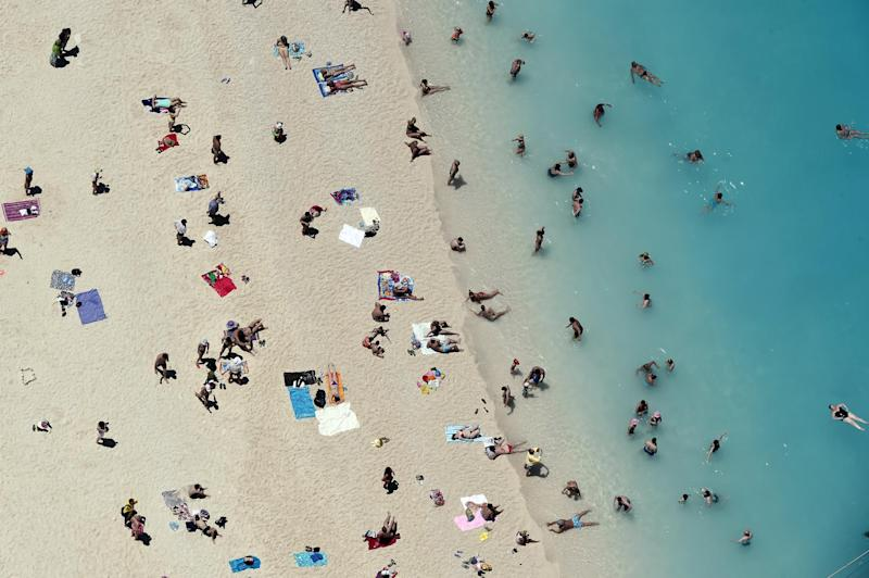Last-minute deals can see you getting bargains to beaches like this one on Zakynthos: AFP/Getty