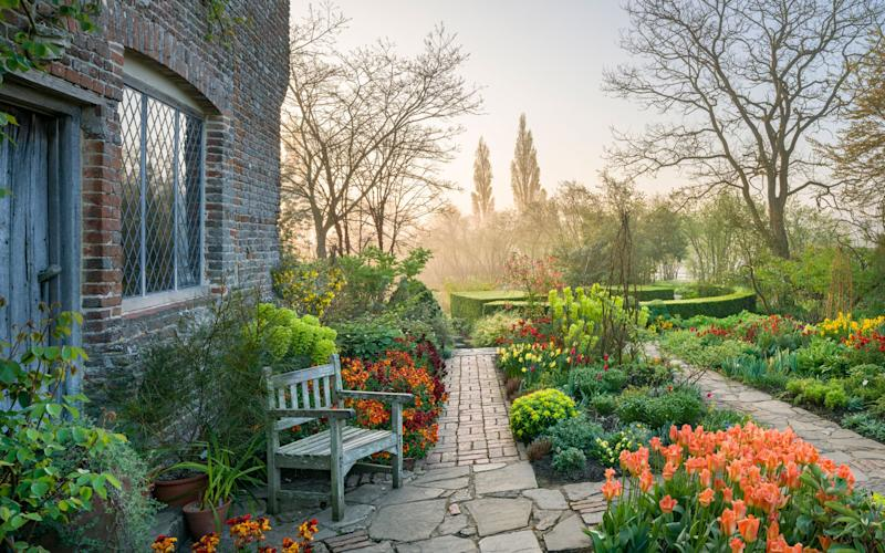 The Priest's House in Kent sits on the edge of Sissinghurst gardens - ©National Trust Images/Andrew Butler