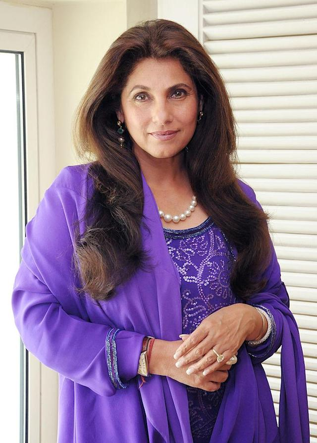 <p>She was born in an affluent Gujarati family and is the eldest of 4 siblings. Her younger sister, Simple Kapadia, who passed away in 2009, was also an actress </p>