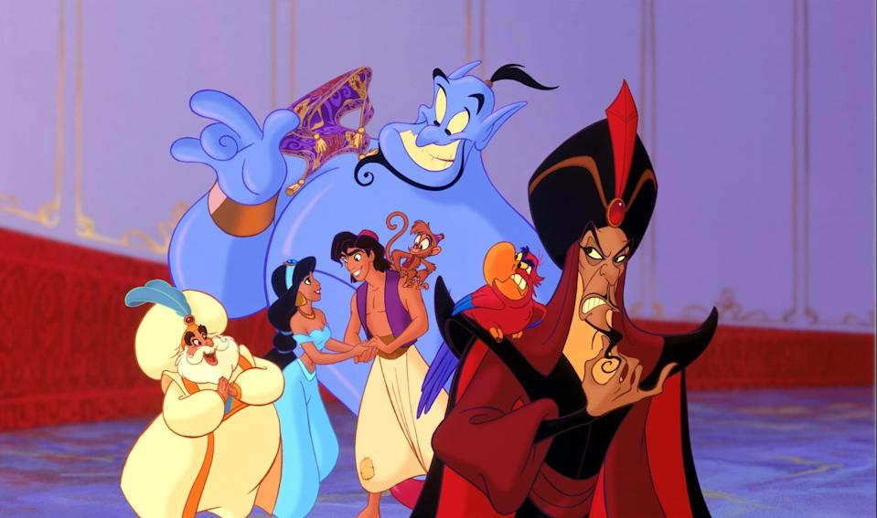 <p>I have so many questions when it comes to <strong>Aladdin</strong>. Outside of recognizing the racism as I've gotten older, none of Jasmine's decisions truly make sense. Where was she headed in the middle of the night? We don't see her until the market the next day, so where did she stay? Did she find a random alley and sleep there, or did she just wander the streets of Agrabah? And what was her endgame? You can't seriously tell me she knew what she was going to do once she left the castle if she didn't even know what money was or how one pays for items.</p> <p>Then, how did the guards who see her every day not recognize her just because she had a hood on? I get why people didn't recognize Aladdin in his Prince Ali getup, because that involves magic, but Jasmine's is essentially a Clark Kent situation.</p>