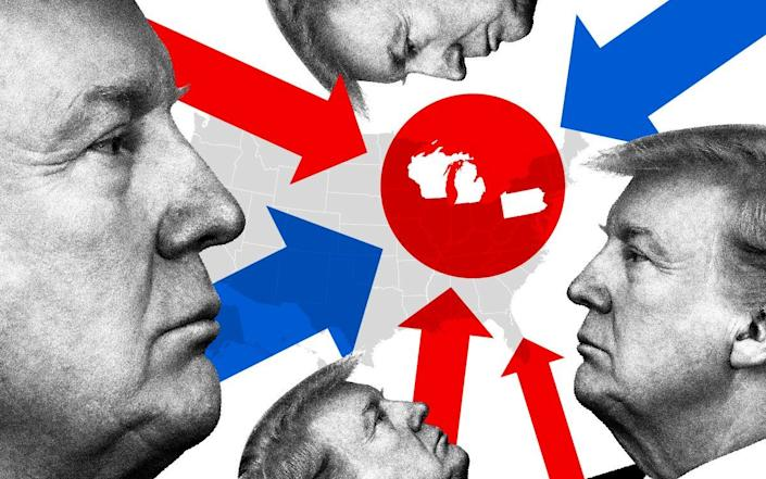 US election 2020: How key states voted as polls underestimate Trump