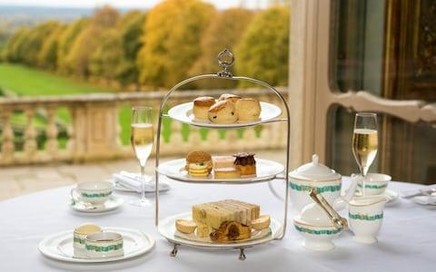 Afternoon tea at Cliveden House, Berkshire, where the Profumo Affair began in 1961. - Credit: Lynk Photography
