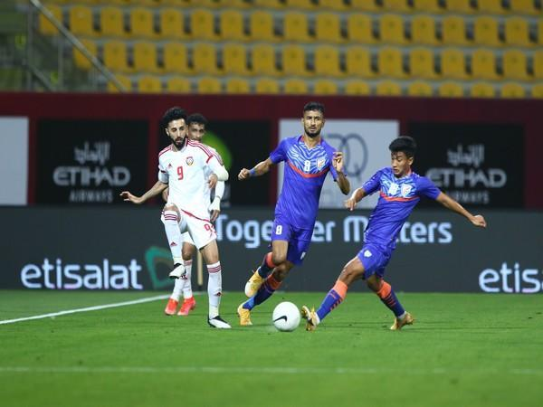 India suffered a 6-0 defeat in the friendly match against UAE. (Photo/ Indian Football Team Twitter)